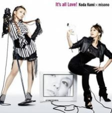 Kumi Koda X misono - It's all Love! [CD+DVD / Jacket A]