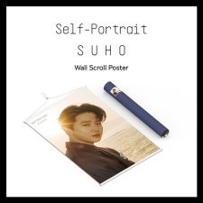 Poster wall scroll - Suho (EXO)