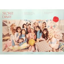 Poster Officiel - IZ*ONE - Spring Collection : Secret Diary - Calendar Package