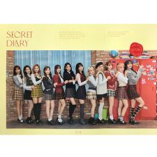Poster Officiel - IZ*ONE - Spring Collection : Secret Diary - Photobook
