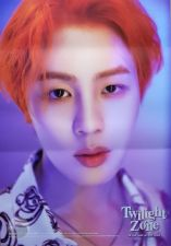 Poster Officiel - Ha Sung Woon (WANNA ONE) - Twilight Zone - Version White