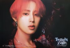 Poster Officiel - Ha Sung Woon (WANNA ONE) - Twilight Zone - Version Black