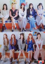 Poster Officiel - WJSN (Cosmic Girls) - Neverland - Version 2