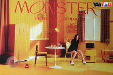 Poster Officiel - Irene & Seulgi (Red Velvet) - Monster - Version MIDDLE NOTE SEULGI