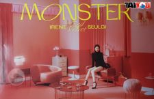 Poster Officiel - Irene & Seulgi (Red Velvet) - Monster - Version MIDDLE NOTE IRENE