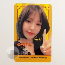 Carte transparente - Wendy (Red Velvet) [B-026]
