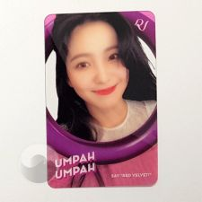 Carte transparente - Yeri (Red Velvet) [B-029]