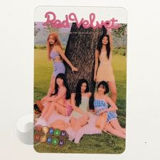Carte transparente - Red Velvet [B-031]