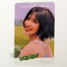 Carte transparente - Wendy (Red Velvet) [B-032]