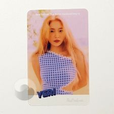 Carte transparente - Yeri (Red Velvet) [C-035]