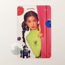 Carte transparente - Irene (Red Velvet) [C-036]
