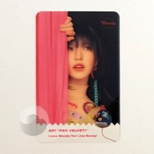 Carte transparente - Wendy (Red Velvet) [C-037]