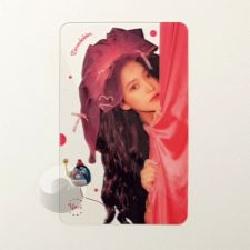 Carte transparente - Yeri (Red Velvet) [C-040]