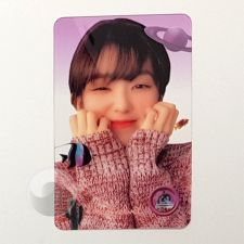 Carte transparente - Irene (Red Velvet) [D-042]