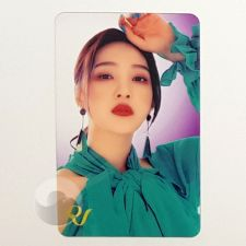 Carte transparente - Joy (Red Velvet) [D-043]