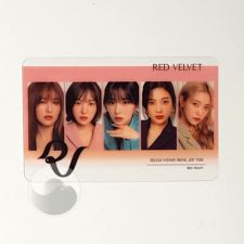 Carte transparente - Red Velvet [D-045]