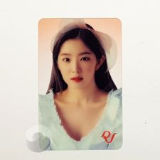 Carte transparente - Irene (RED VELVET) [D-046]