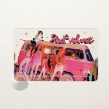 Carte transparente - Red Velvet [D-047]