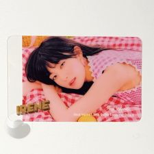 Carte transparente - Irene (Red Velvet) [D-049]