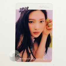 Carte transparente - Joy (Red Velvet) [D-050]