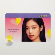 Carte transparente - Jennie (BLACKPINK) [H-088]