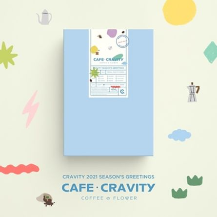 CRAVITY - Cafe Cravity - 2021 Season's Greetings