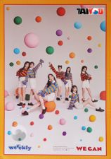 Poster Officiel - Weeekly - We Can - Mini Album Vol.2 - Ver. Wave