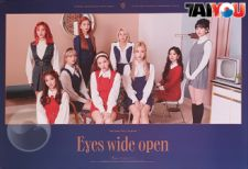 Poster Officiel - TWICE - Eyes Wide Open - Album Vol.2 - Ver. Retro