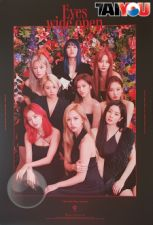 Poster Officiel - TWICE - Eyes Wide Open - Album Vol.2 - Ver. Story