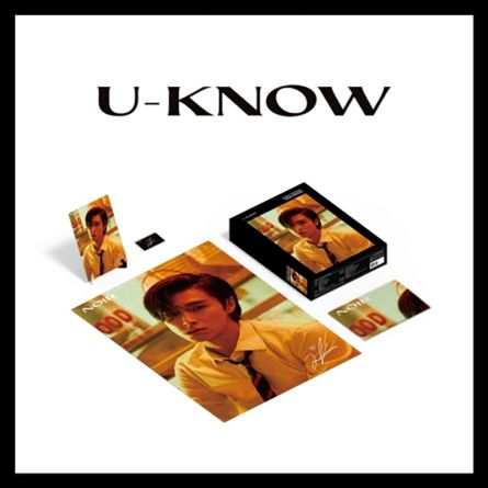 Puzzle Package - U-KNOW (TVXQ!) - NOIR